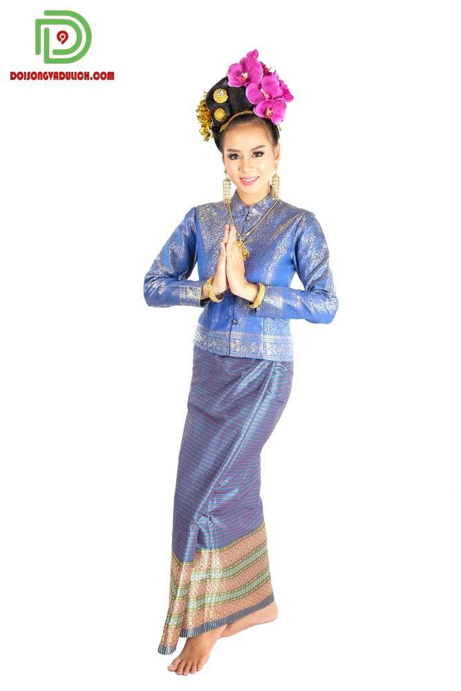 trang phục truyền thống Thái Borompiman