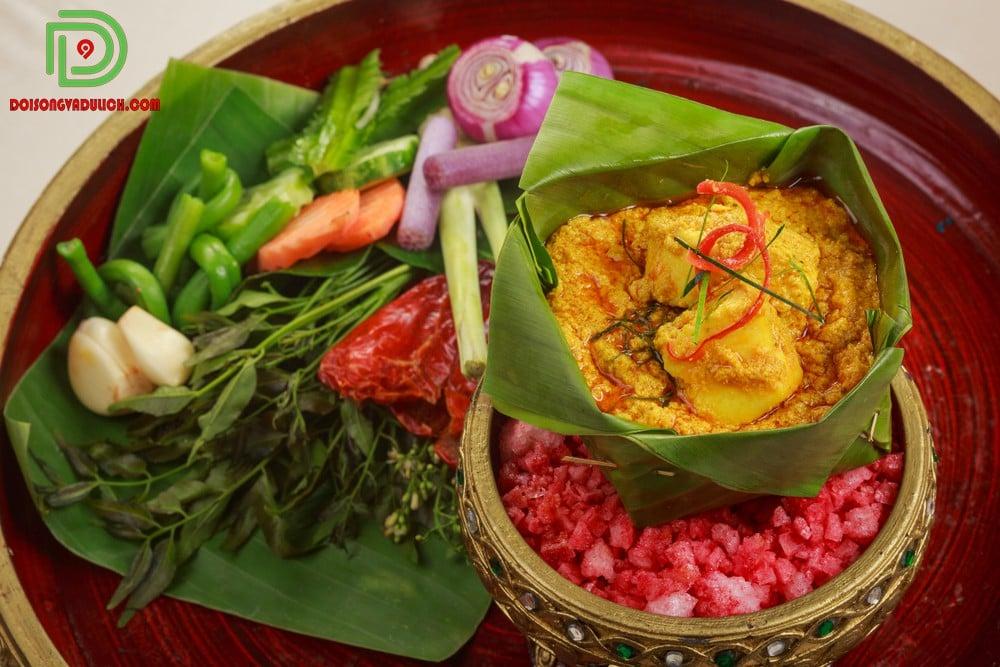Ẩm thực truyền thống Campuchia