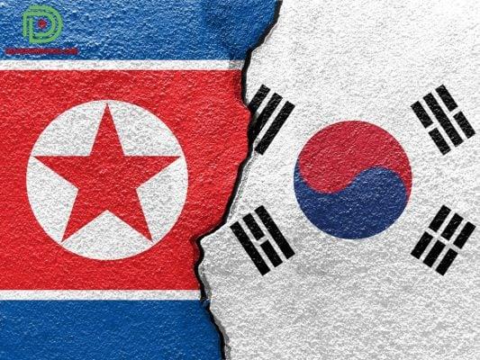 bản đồ Hàn Quốc Triều Tiên