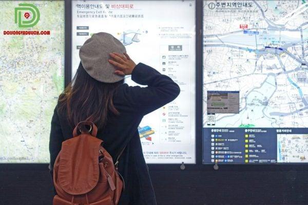 bản đồ tàu điện ngầm Hàn Quốc