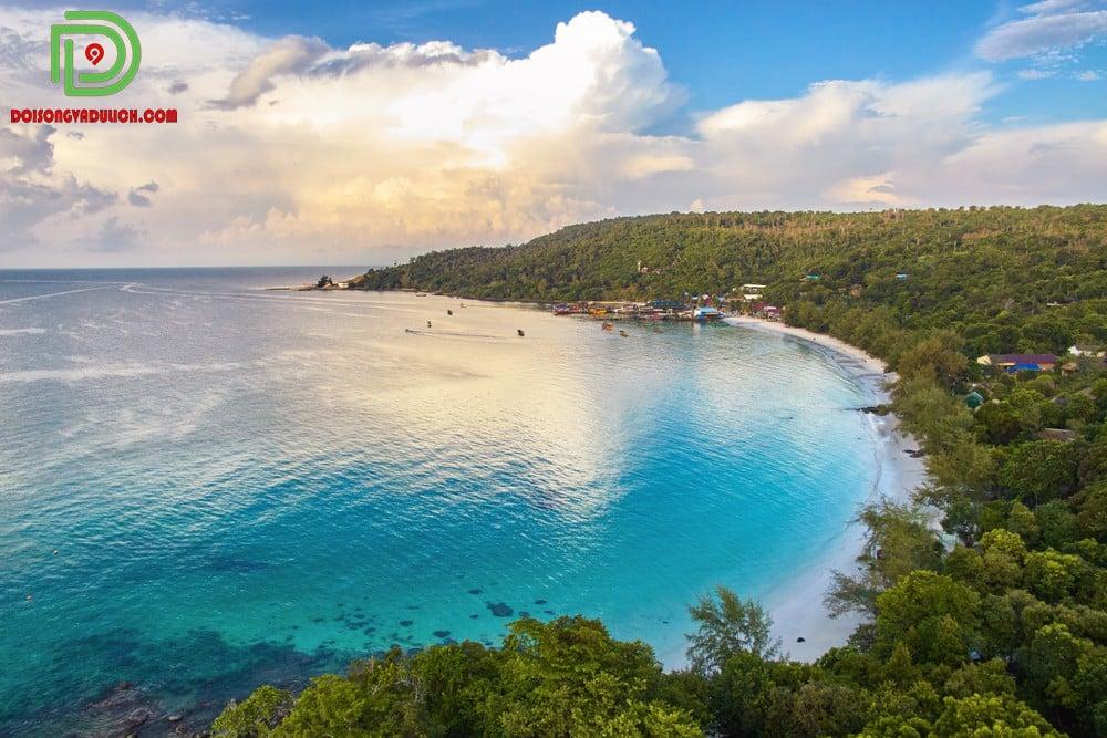 Biển Koh Rong Campuchia