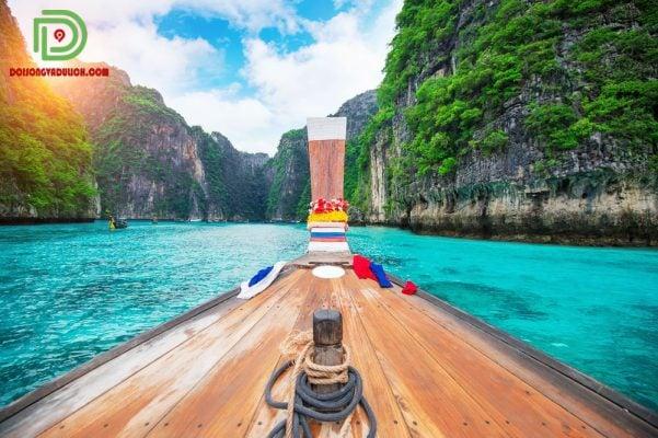 biển maya đảo phiphi