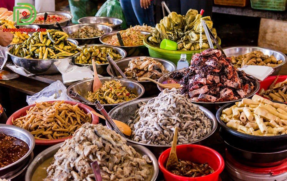 Mắm trộn - đặc sắc ẩm thực Campuchia
