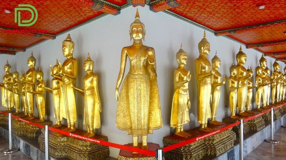 Các tượng Phật khác tại chùa Wat Pho
