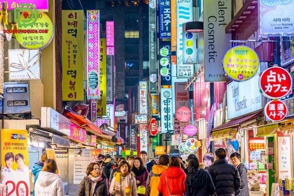 chợ Myeong-dong