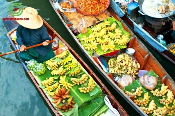 chợ nổi Amphawa Thái Lan