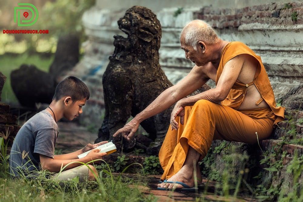 Người dân Campuchia phần lớn theo Đạo Phật