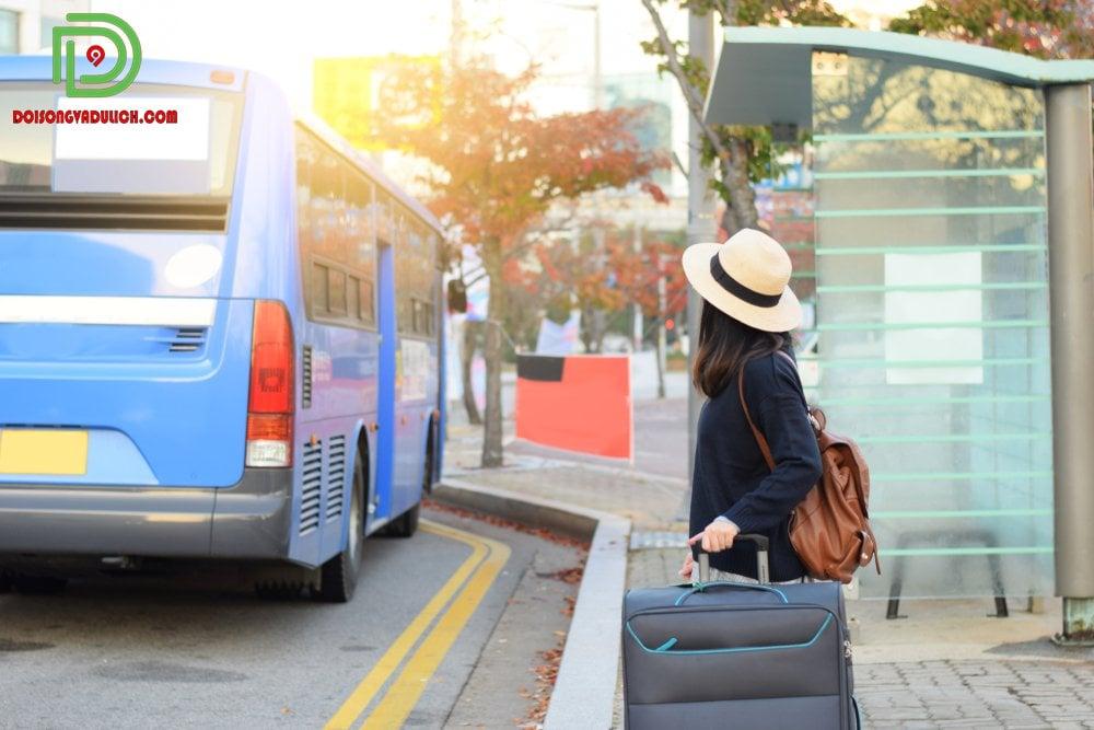 Đi Xe Bus Hàn Quốc