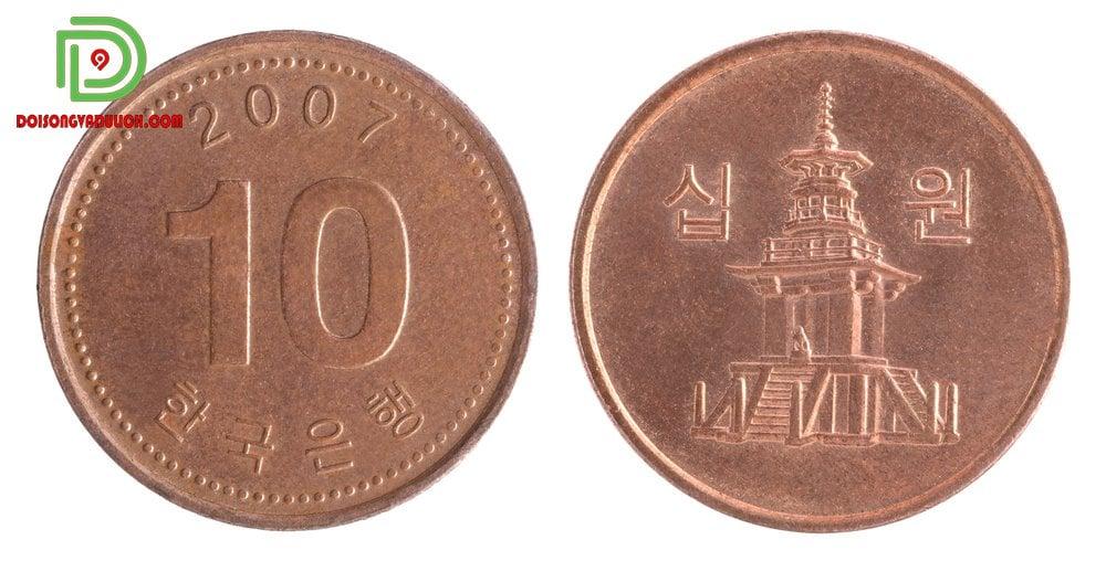 Đồng xu 10 won