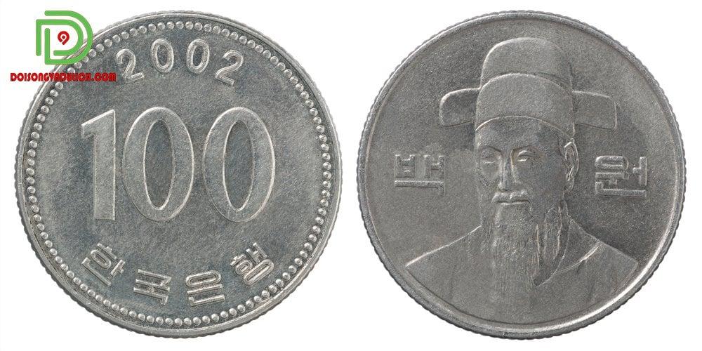 Đồng xu 100 won