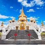 Chùa Phật Vàng Wat Traimit Thái Lan linh thiêng bậc nhất Bangkok