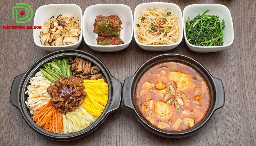 kim chi va sup am thuc han quoc