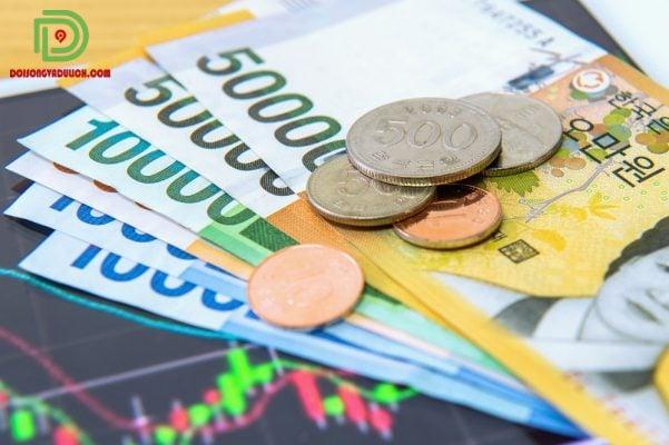 Các loại tiền Hàn Quốc