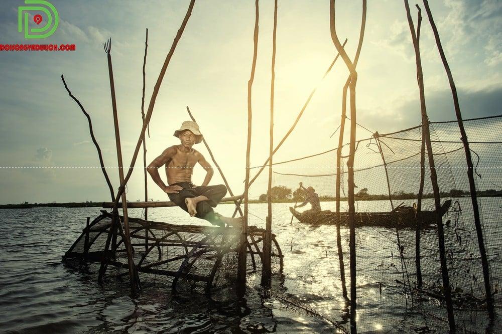 Người dân biển hồ