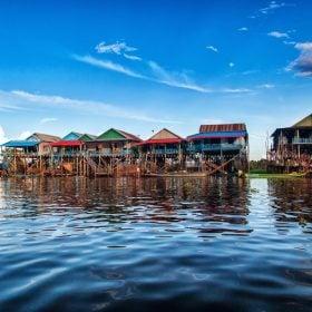 Nhà Ở Biển Hồ Campuchia