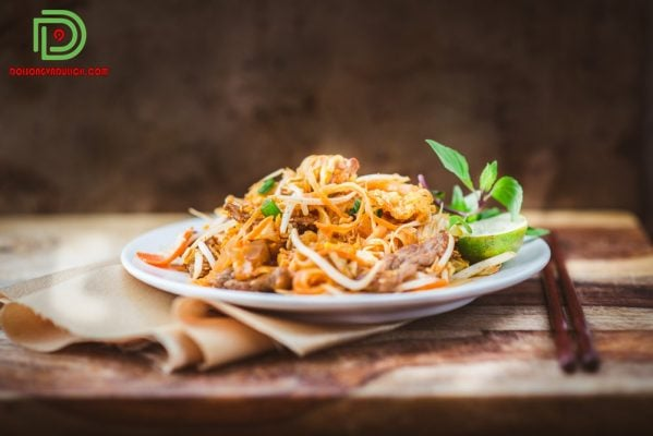 pad Thái - ẩm thực Thái Lan