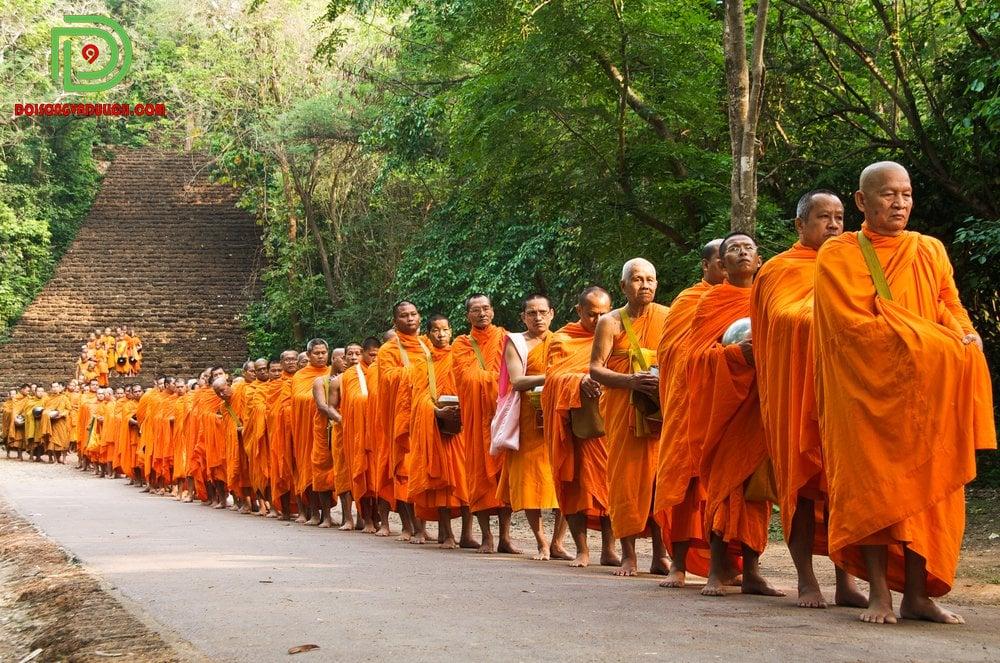 Phật giáo là tôn giáo chính ở Thái Lan