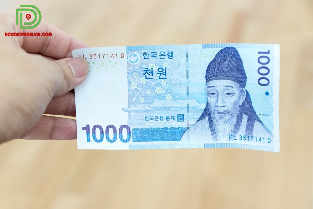 Tiền giấy 1000 won