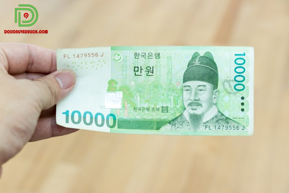 Tiền giấy 10000 won