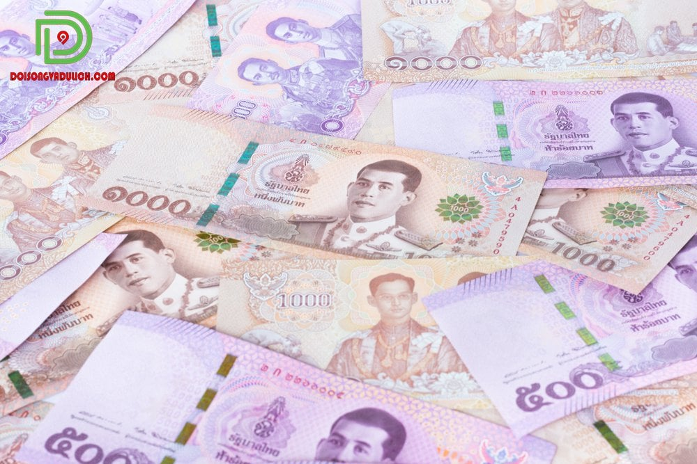 1000 baht to vnd