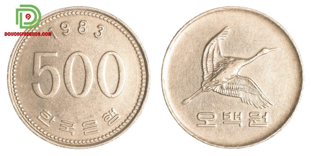 Đồng xu 500 won