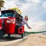 Xe Tuk tuk phương tiện không thể thiếu khi đến Thái Lan