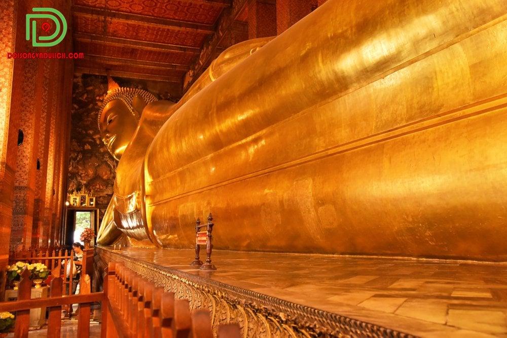 Tượng Phật Nằm ở chùa Wat Pho