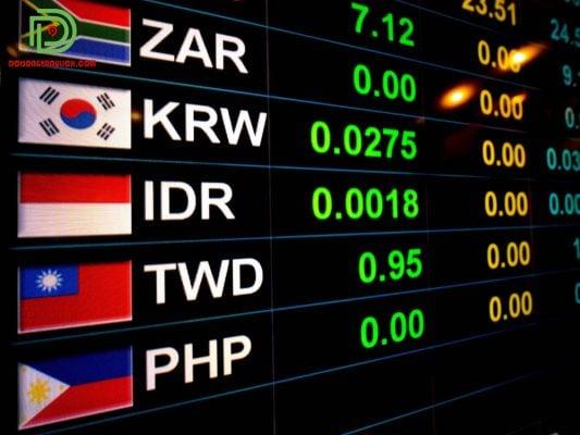Tỷ giá tiền Hàn Quốc