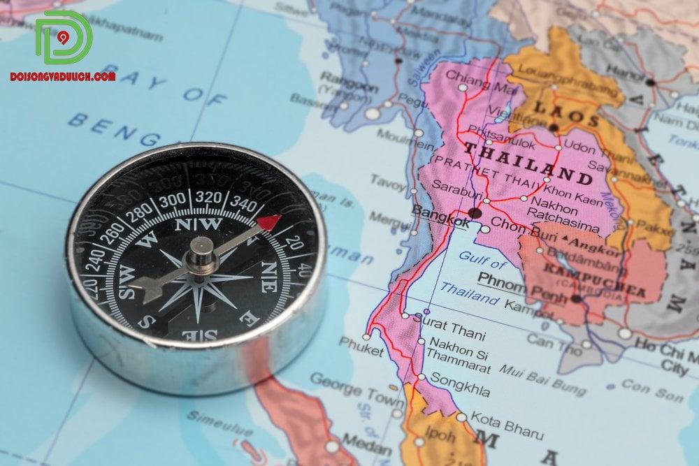 vị trí bản đồ Thái Lan