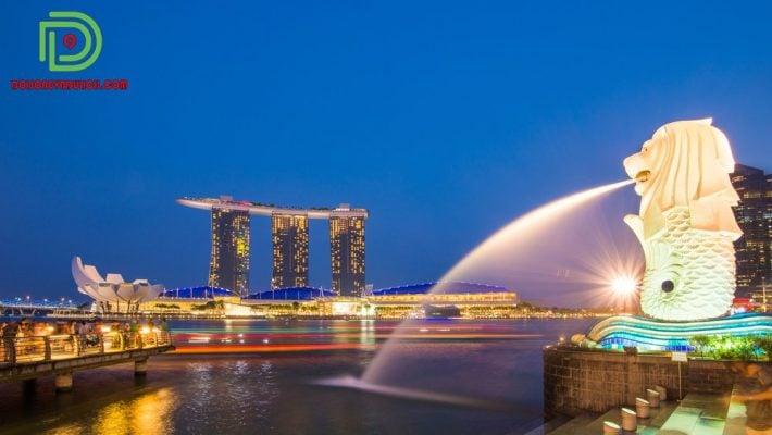 biểu tượng đất nước singapore