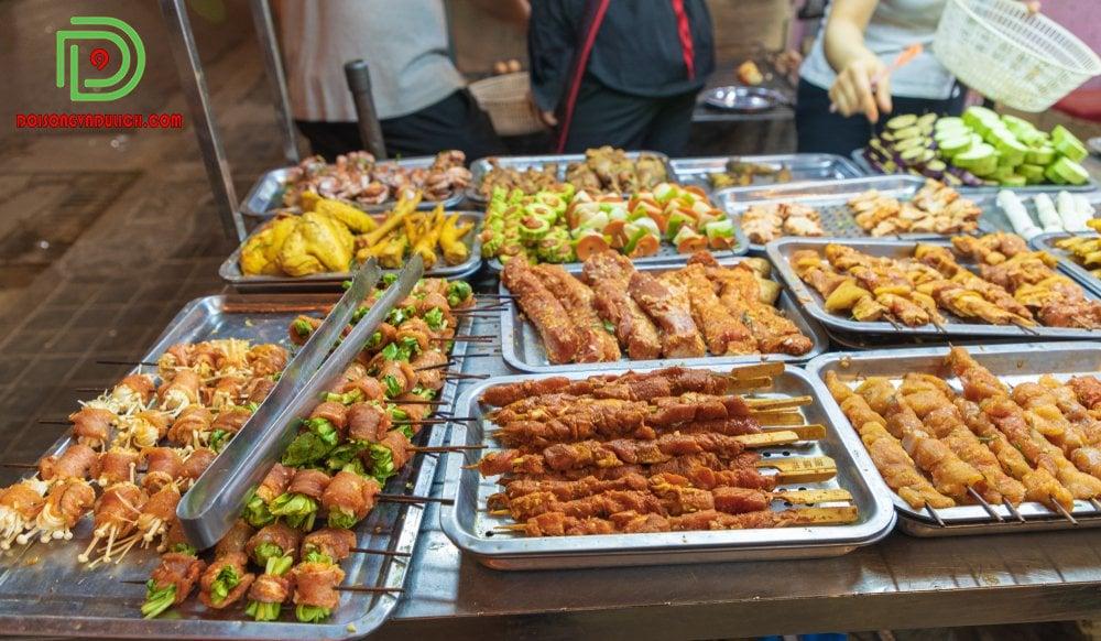 các món ăn đường phố