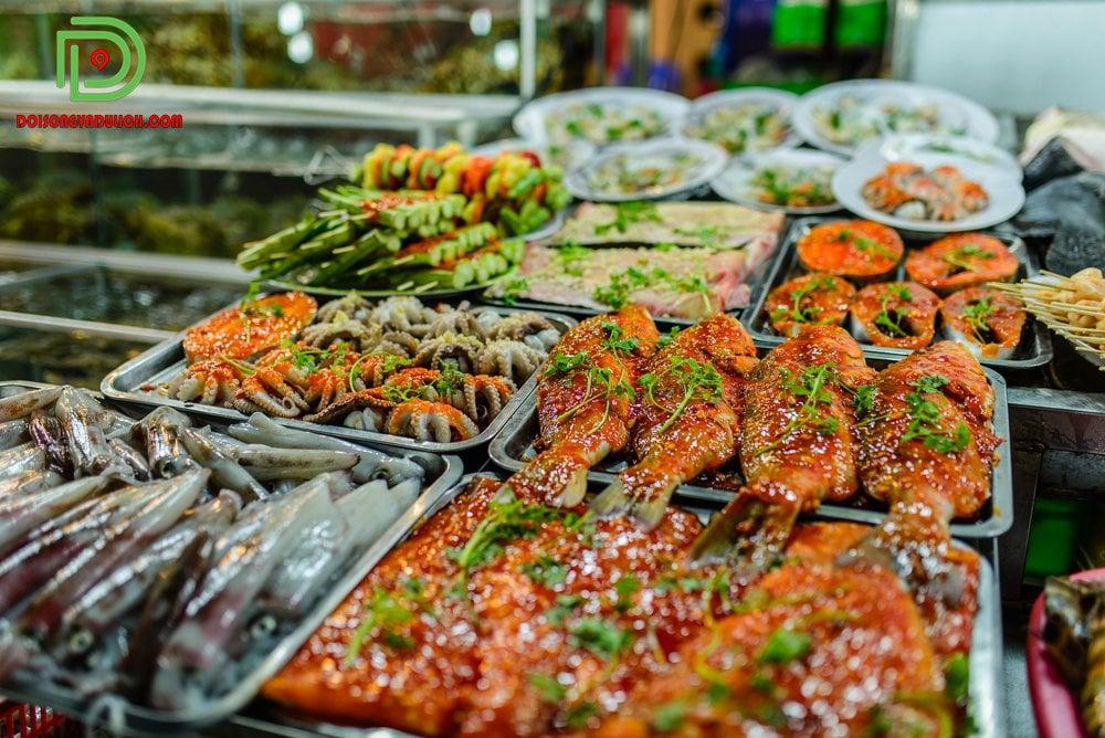 hải sản Phú Quốc