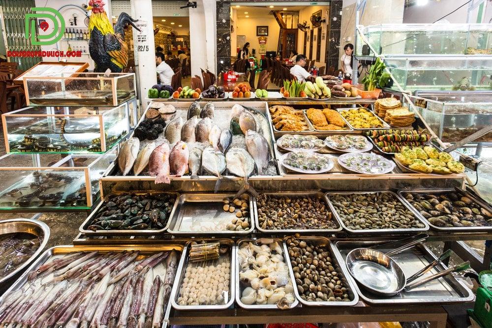 hải sản tươi sống Phú Quốc