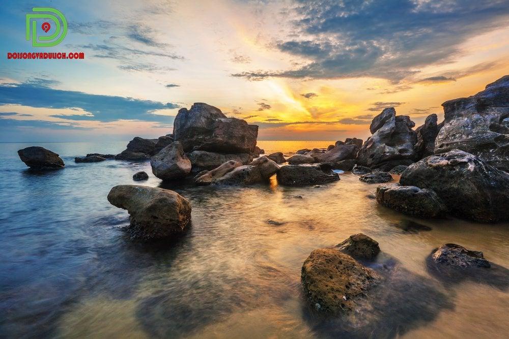 hoàng hôn trên biển Phú Quốc