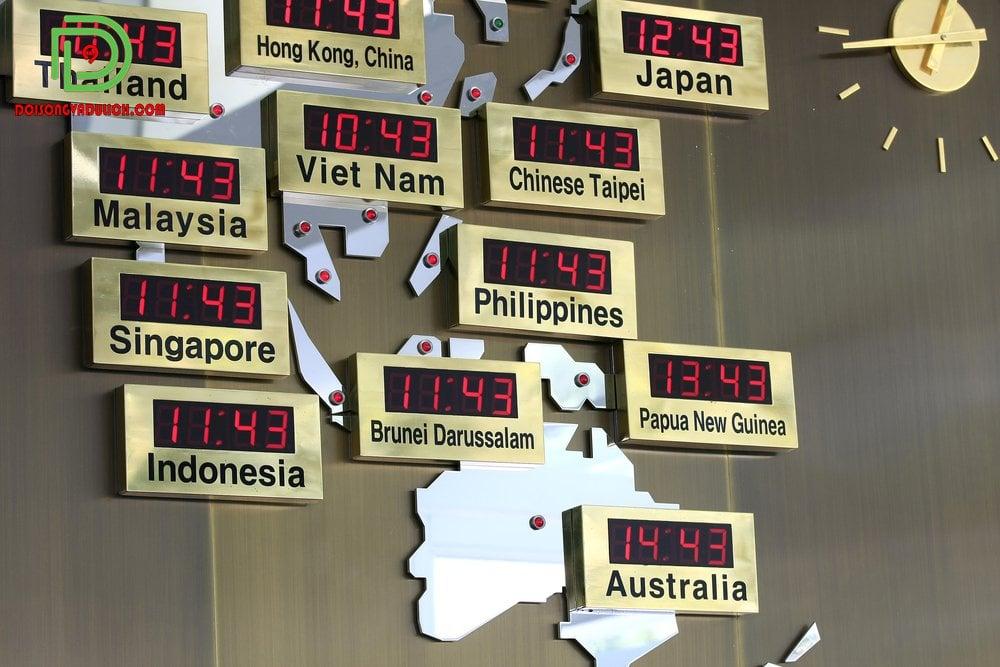 Múi giờ Singapore