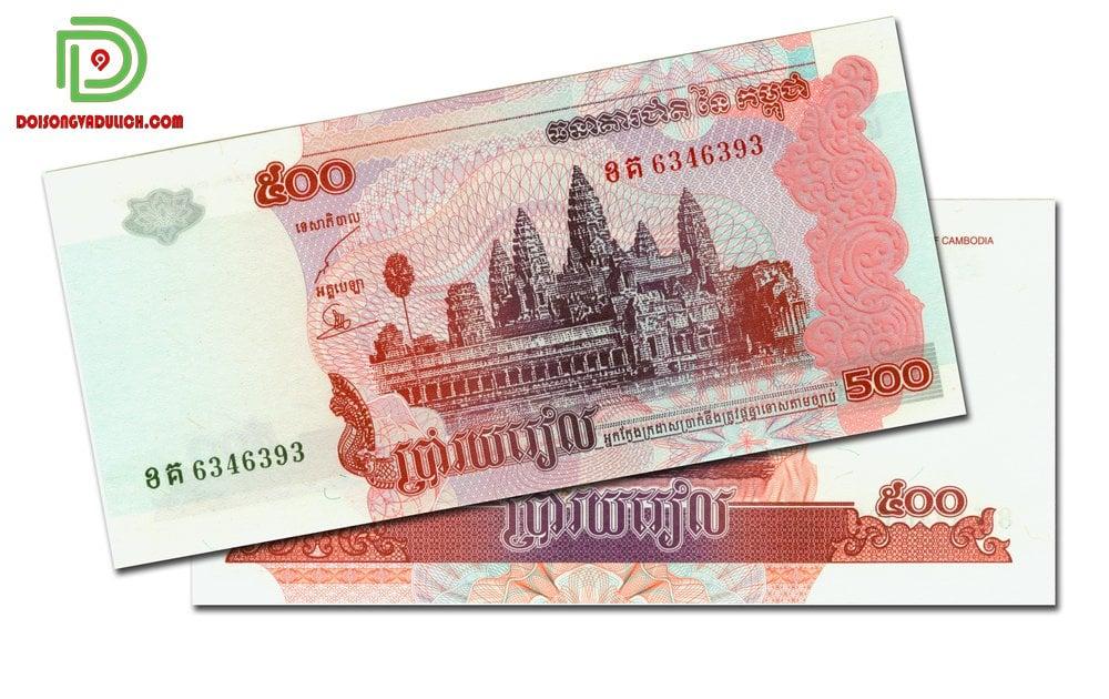 Tiền 500 Riels