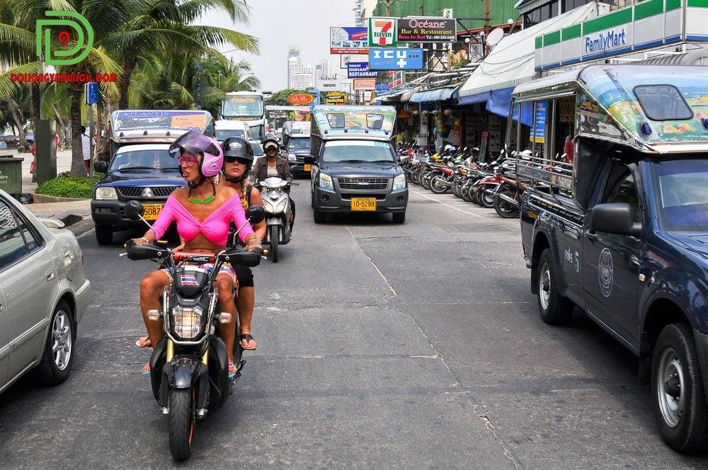 Thuê xe máy tại Pattaya